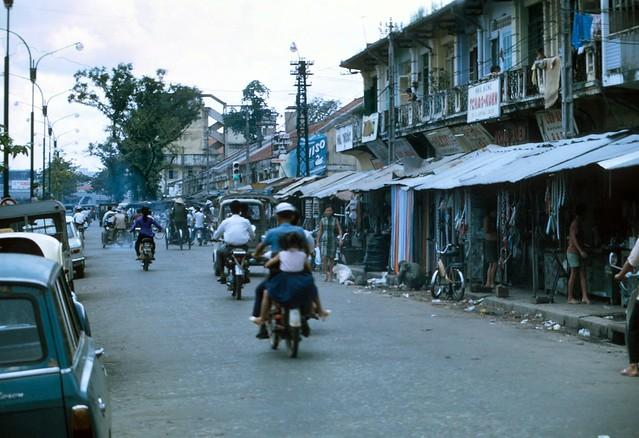 Chợ Cũ Đại lộ Hàm Nghi Saigon