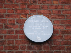 Photo of Hugh Lane marble plaque