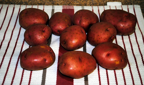 Fluffy New Potatoes | Crazy Jamie's Blog