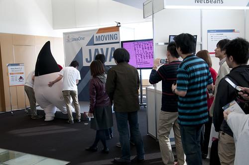 Duke Photo Session, JavaOne Tokyo 2012