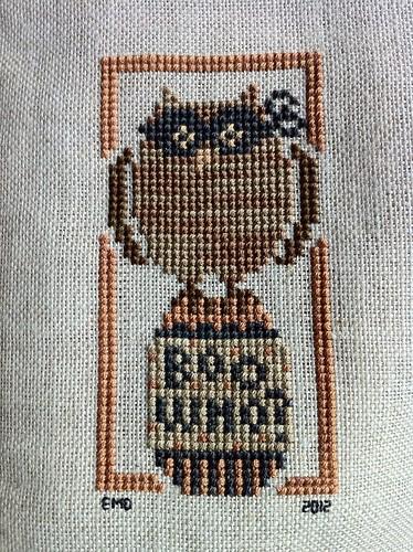 Owl on an Egg