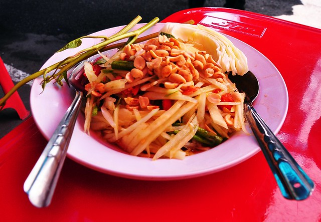The Best Som Tom Salad in Chaing Mai