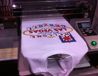 CES 2011 Brother print printing a CES 2011 T-Shirt