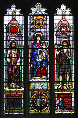 Blessed Virgin and Child with St Thomas and St John the Baptist by Lawrence Lee