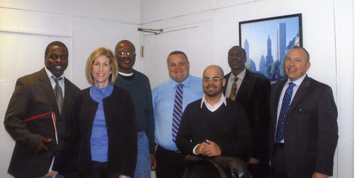 Project Renewal's Ft. Washington Men's Shelter visits lawmakers in Albany