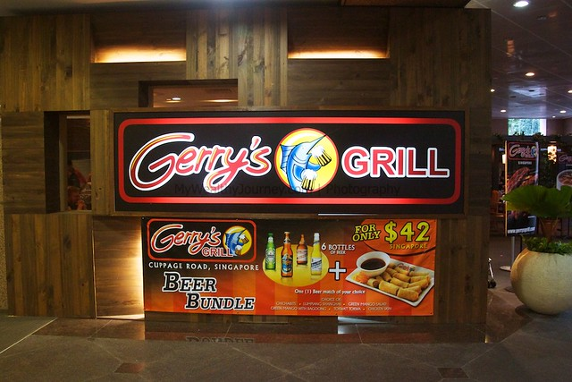 Food trip at Gerry's Grill Singapore