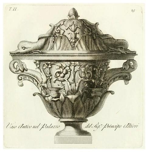 009-Manuale di varj ornamenti componenti la serie de' vasj antichi…Vol 2-1740-Carlo Antonini