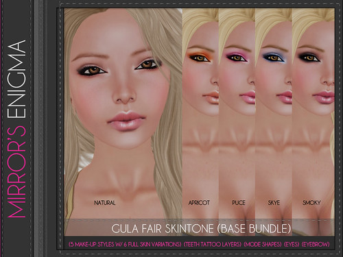 Gula Fair Skintone (Base Bundle)