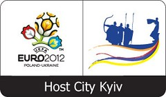 UEFA EURO2012 : Host City Kiev logo