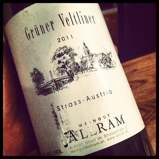2011 Weingut Allram Grüner Veltliner