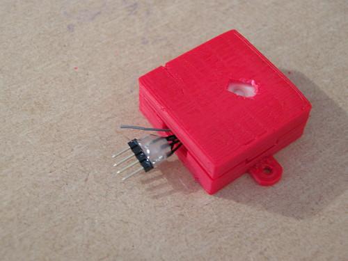 3D printed GPS case