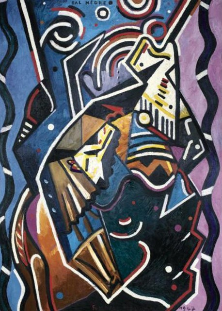 Picabia, Francis (1879-1953) - 1947 Bal Negre (Sotheby's New York, 2006)