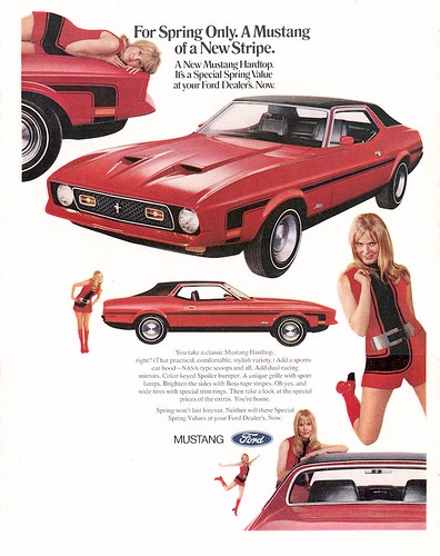 1971 Ford Mustang Spring Value Pack Ad - USA by Five Starr Photos ( Aussiefordadverts)