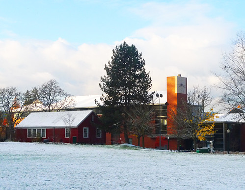 school snow building college oregon sunrise campus education university eugene uo burner uofo universityoforegon uoregon wolfram hedco