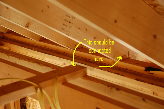Rafters flickr photo sharing for How to fish wire through ceiling