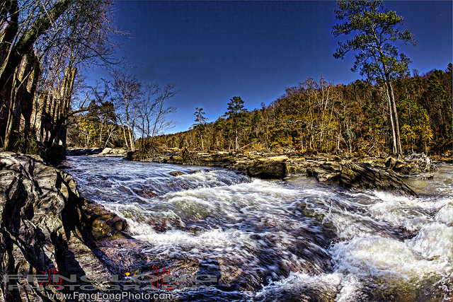 Sweetwater Creek State Park HDR