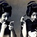 Putting on Make-up and Fixing their Hair 1920s by Blue Ruin 1