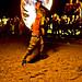 Small photo of Fire twirler on Haad Rin Nok