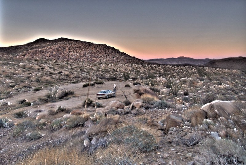 Our campsite, HDR Style
