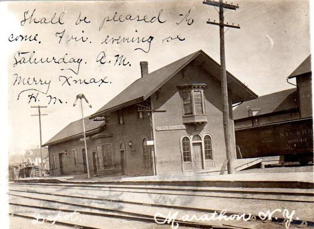DL&W Station, Marathon, NY