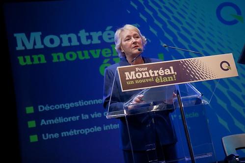 Pauline Marois au colloque sur la métropole