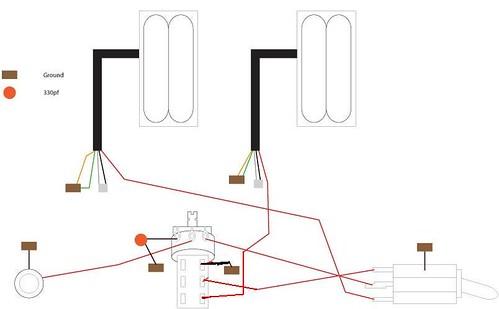 gibson explorer wiring diagram