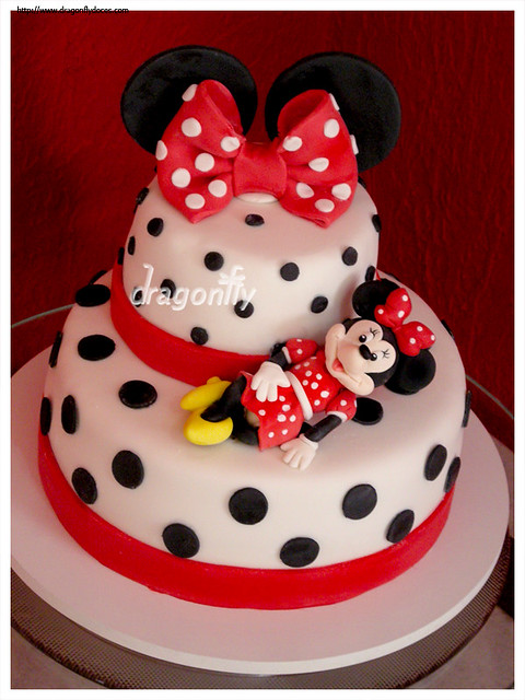 Minnie Cake / Bolo da Minnie | Flickr - Photo Sharing!