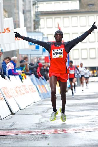 Elite Männer und Frauen - Zürcher Silvesterlauf 2010