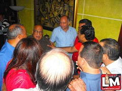 Reformistas, Perredeístas y Peledeístas festejan Cumpleaños de Eddy Flores