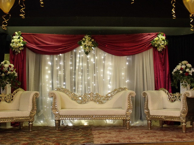 Asian wedding stage decorations bristol flickr photo for Asian wedding stage decoration manchester