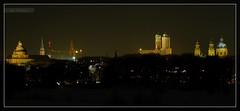 Münchner Kirchen bei Nacht 01