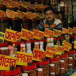 Vendor of all Powders and Spices - Kolkata, India