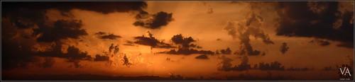 sunset sky panorama españa orange sun sol beautiful yellow clouds atardecer lumix spain long view availablelight awesome bonito panoramic noflash panasonic beam amarillo telephoto cielo va panoramica nubes vista handheld puesta burgos largo naranja sunbeams rayos castilla telefoto castile haces increible sinflash juarros luzdisponible sanmillan tz7 apulso zs3 trensamiro