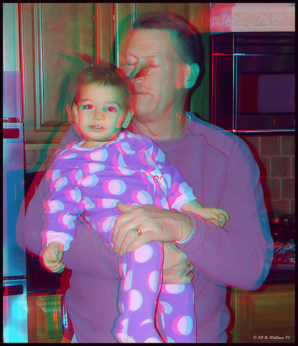 portrait cute girl stereoscopic 3d kid child brian woody anaglyph indoors stereo pjs wallace cece inside held christmaseve relative depth pajamas stereoscopy stereographic brianwallace stereoimage stereopicture 122410