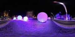 Polar spheres
