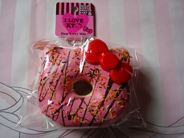 Hello Kitty Squishy Strawberry Donut - a photo on Flickriver