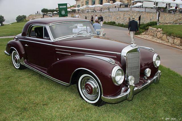 1956 mercedes benz 300 sc coupe burgundy fvr2 flickr for 1956 mercedes benz