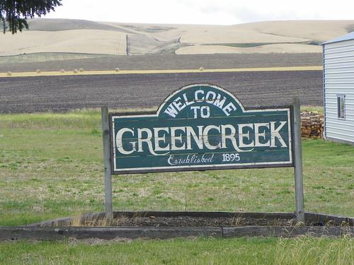 Welcome to Greencreek, Idaho County, Idaho