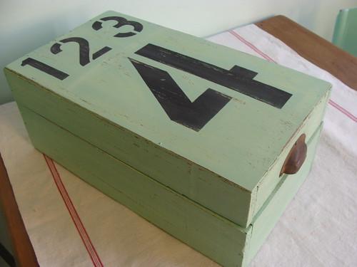 caja reciclada
