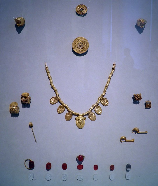 Etruscan Jewellery, Italia Antiqua: Etruscans and Romans (Altes Museum, Berlin)