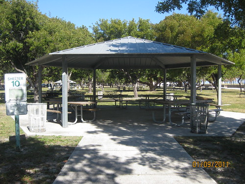 Crandon Park Shelter 10 Group Picnic Area Large