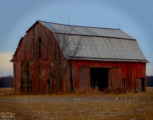 Old Barn,  Defiance County Ohio