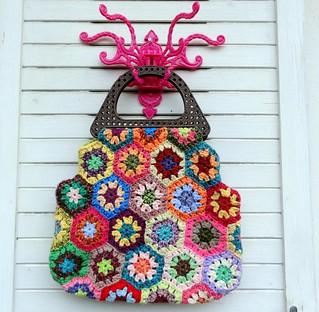 Kitsch O Pop Crochet Bag