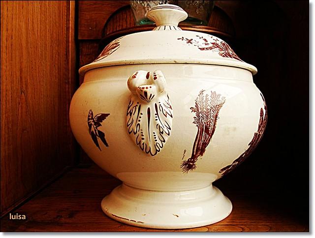 Sopera antigua de cer mica de sargadelos flickr - Ceramica de sargadelos ...