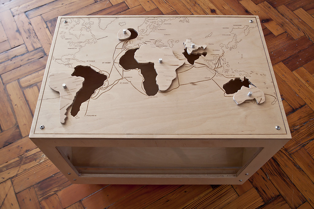 Wood World Map Cut Out.World Map Cut Out Jigsaw Interactive World Map Cut Out Jig Flickr