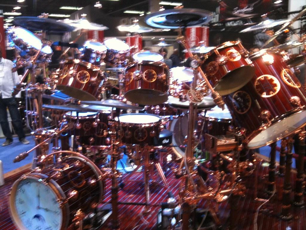 Neil Peart Time Traveler DW Drum Kit