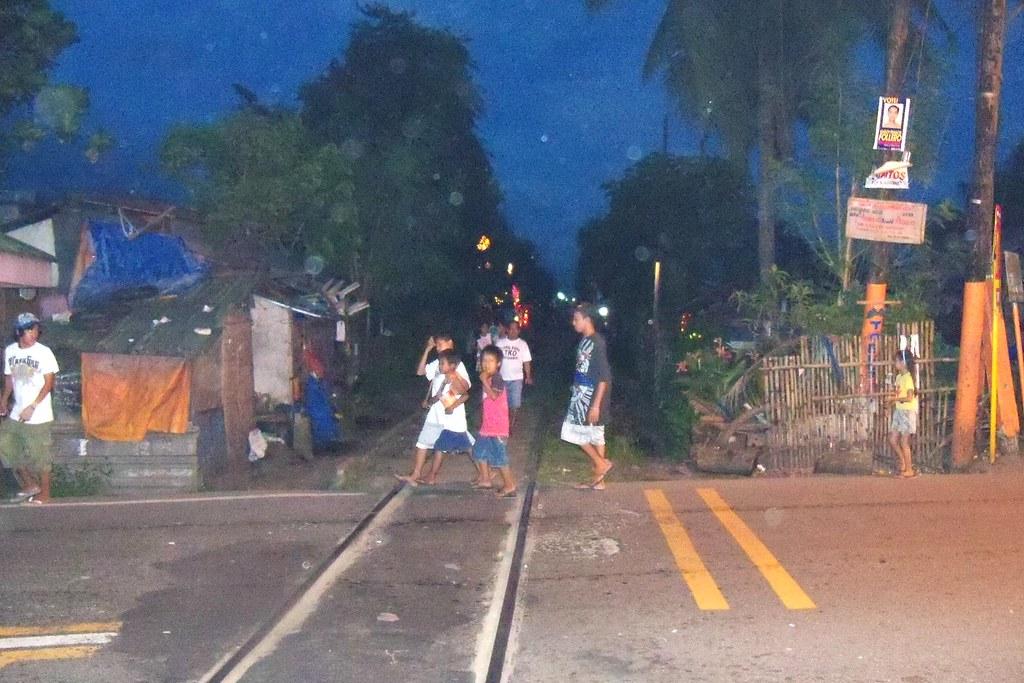 Naga railroad crossing at night   mbb8356   Flickr