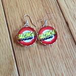 Bazinga earrings