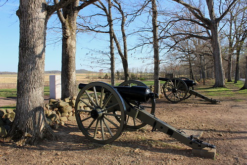 Confederate 20-Pounder Rifled Cannon, Gettysburg