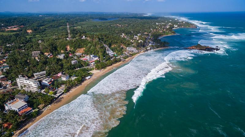 Mirissa Sri Lanka Luftbild